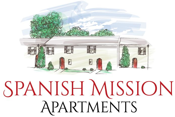 spanish mission apartments LOGO